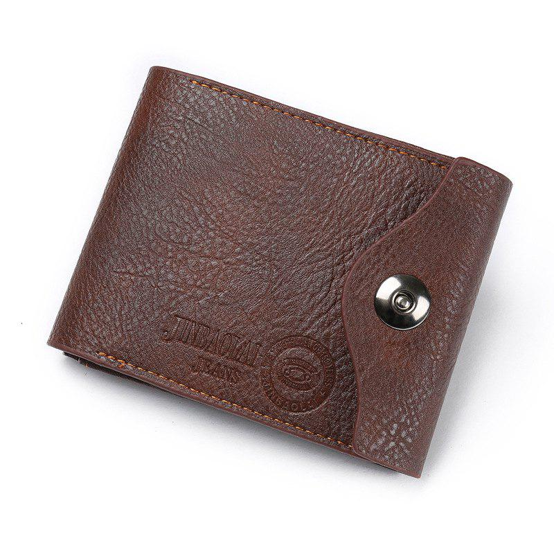 e474d092f728 Best Men S Fashion Multifunctional Magnetic Three Fold The Coin Purse Wallet