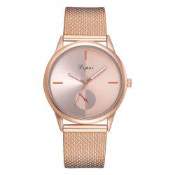 Mme Tide Alloy Watch Europe et les États-Unis Monoculaire Watch Fashion Leisure -