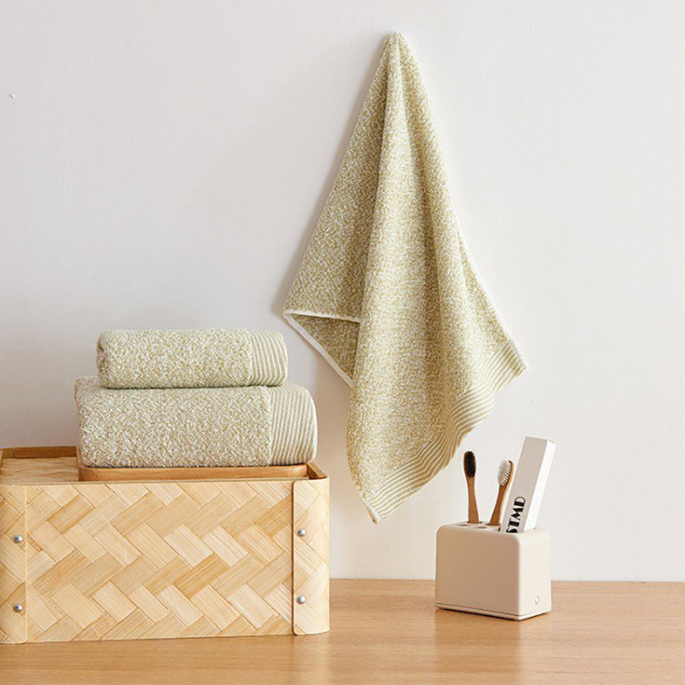 Trendy Cotton Towel Set Come with 1 Bath Towel and 2 Hand Towel