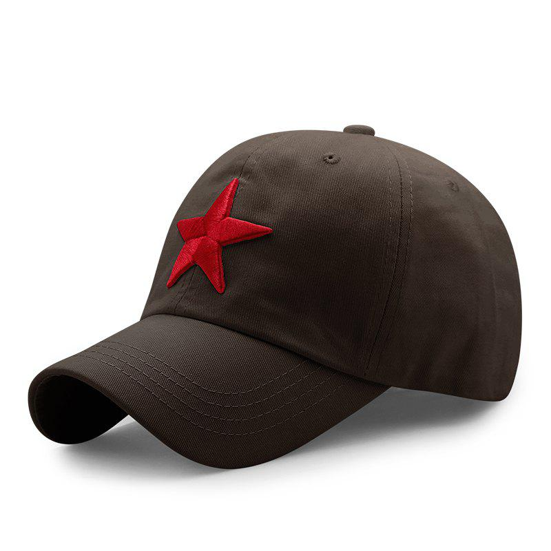 Buy Pentagram Embroidered Casual Cap + Adjustable for 56-60cm head circumference