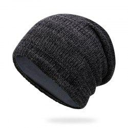 Mixed hair braided wool cap + average size suitable for 56-60cm head circumferen -