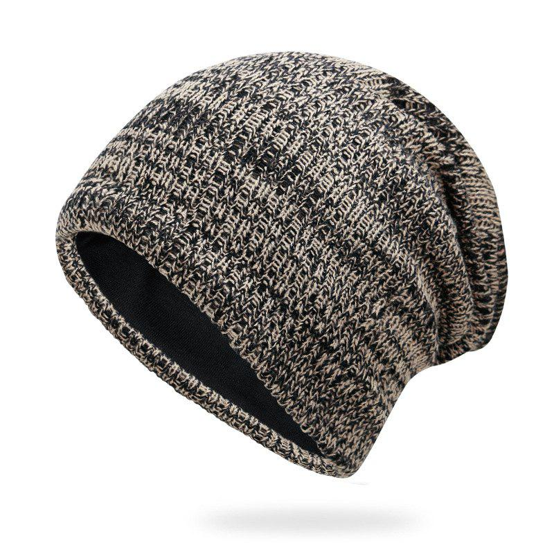 Best Mixed hair braided wool cap + average size suitable for 56-60cm head circumferen