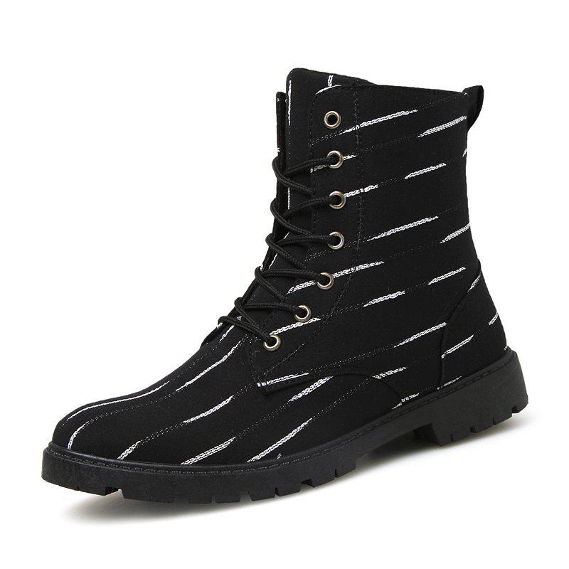 Discount Men Boots Lace Up Fashion Soft and Comfortable Shoes