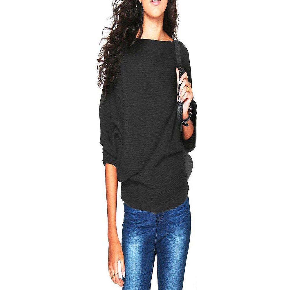 Sale Women'S Thread Loose Solid Color T - Shirt