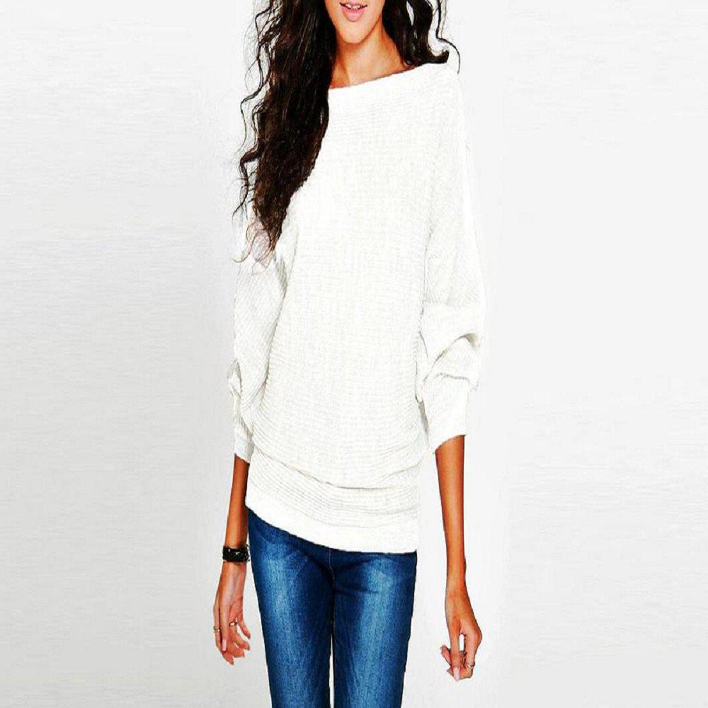 Fashion Women'S Thread Loose Solid Color T - Shirt