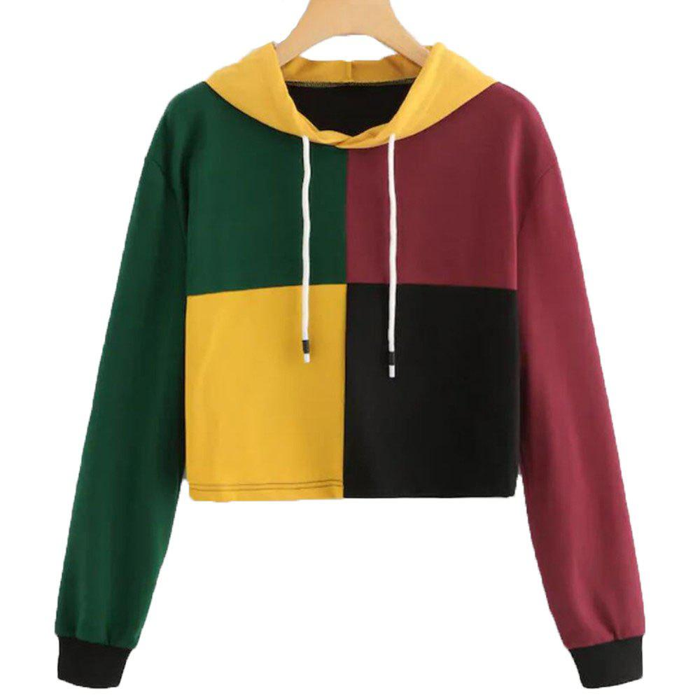 Affordable Long Sleeve Loose Leisure Hoodie