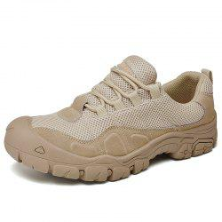 Men Hiking Athletic Outdoor Shoes Breathable Trekking Climbing Mountain Sneakers -
