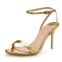 Thin Belt High Heel Buckle Sexy Female Sandals -