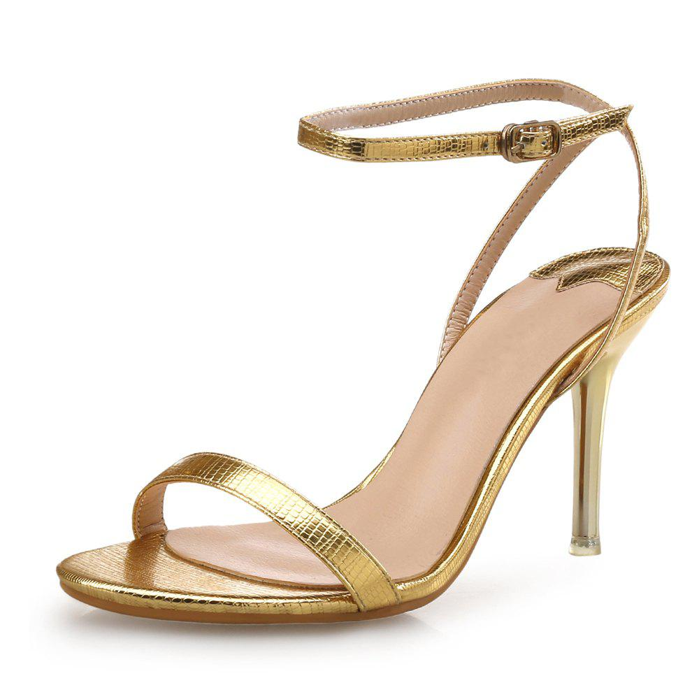Cheap Thin Belt High Heel Buckle Sexy Female Sandals