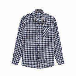 Men's New Casual Long Sleeve Flannel Plaid Shirt -