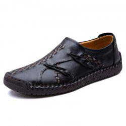 Handmade Leather Sewing Leisure Shoes -