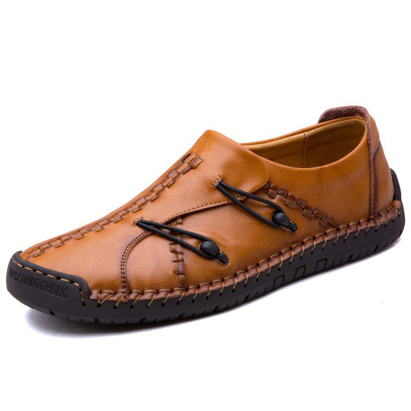 Affordable Handmade Leather Sewing Leisure Shoes