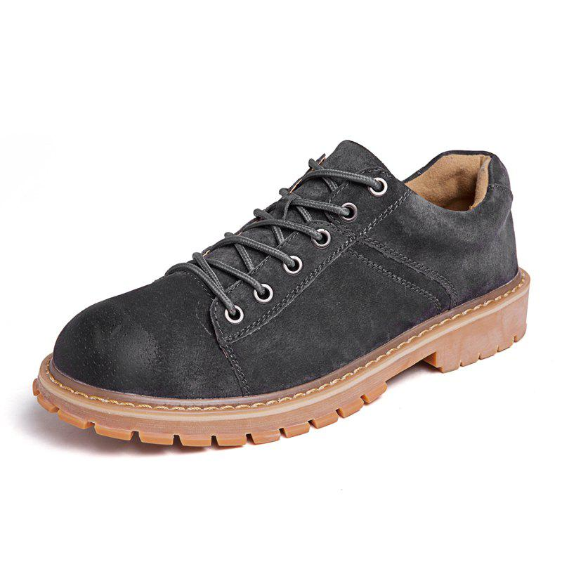 Affordable Leather Fashion and Leisure Tooling Shoes