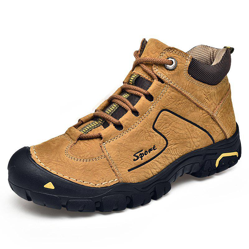 Trendy Head Leather Outdoor Climbing Shoes