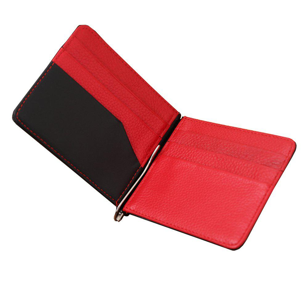 Trendy Multiple Screens Wallet Leather Man Crashed Color Purse