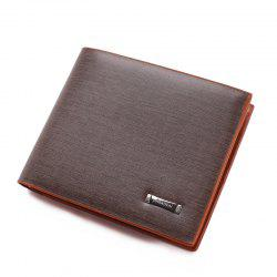 Fashion Men Short Business and Leisure Travelers A Wallet -