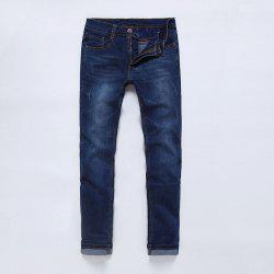 PURPLEWIND/ S1102 Slim Straight Men Jeans -