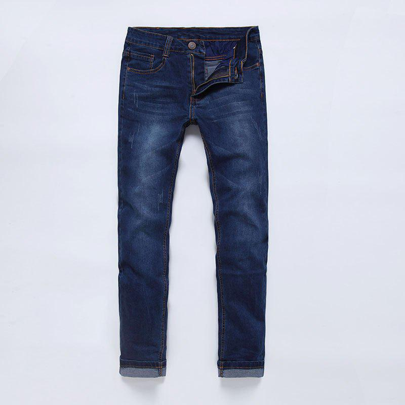 New PURPLEWIND/ S1102 Slim Straight Men Jeans