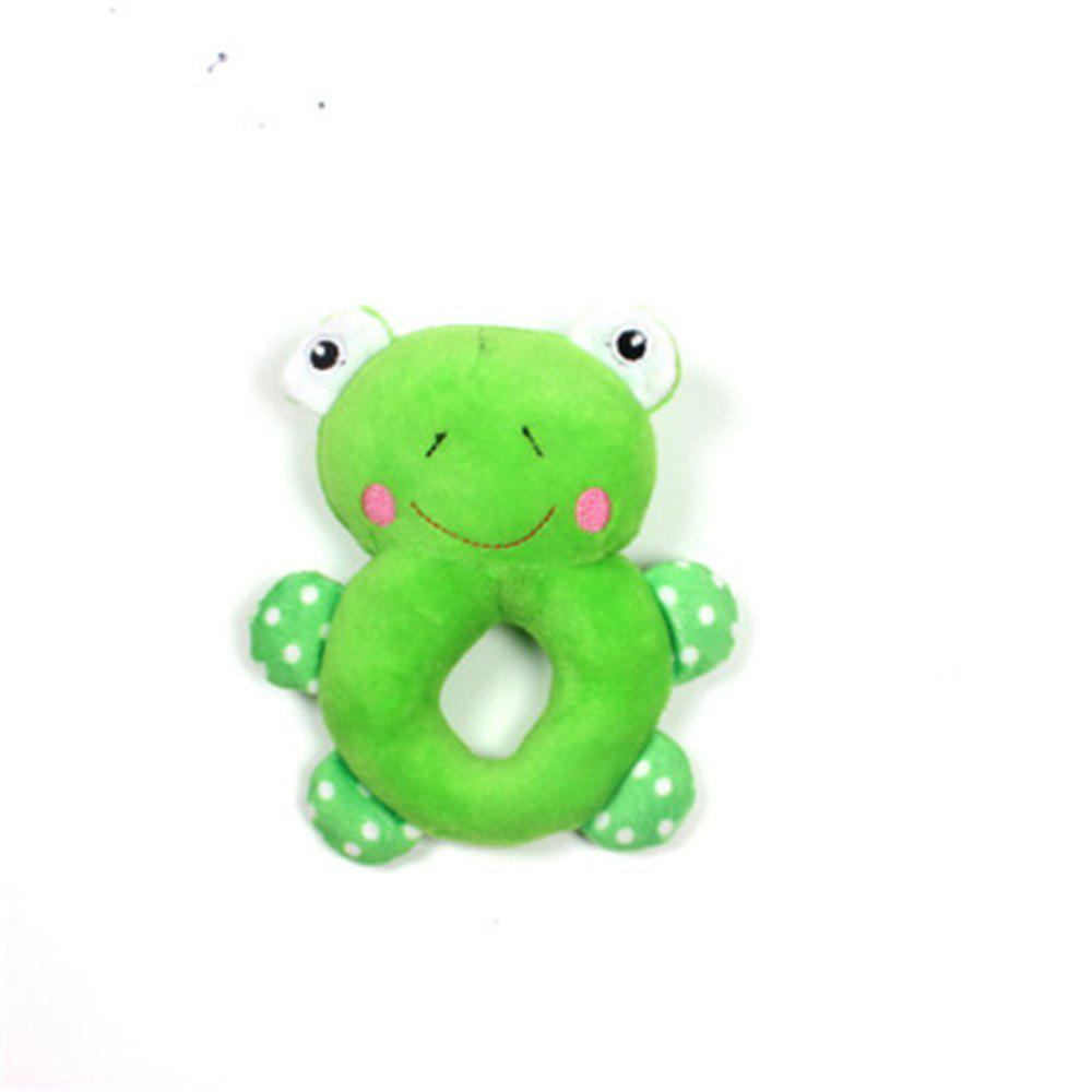 Trendy Pet Supplies Puppy Teddy Plush Ring Toy Cute Molar Puzzle Clean Teeth
