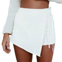 Irregular Bandage Summer Short Skirts Thin Pants -