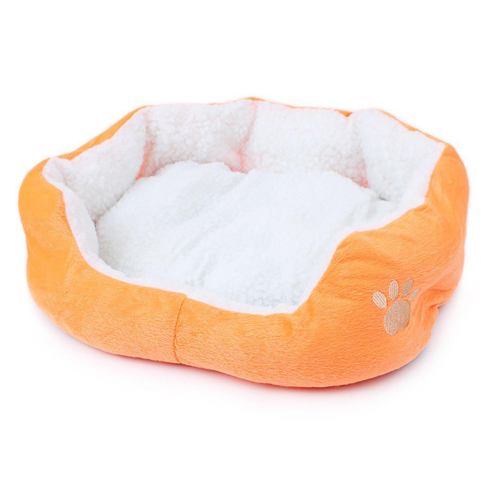 Trendy Lamb Kennel Teddy Bear Can Remove and Wash Pet Kennel MATS
