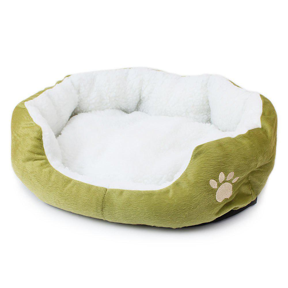 Fashion Lamb Kennel Teddy Bear Can Remove and Wash Pet Kennel MATS