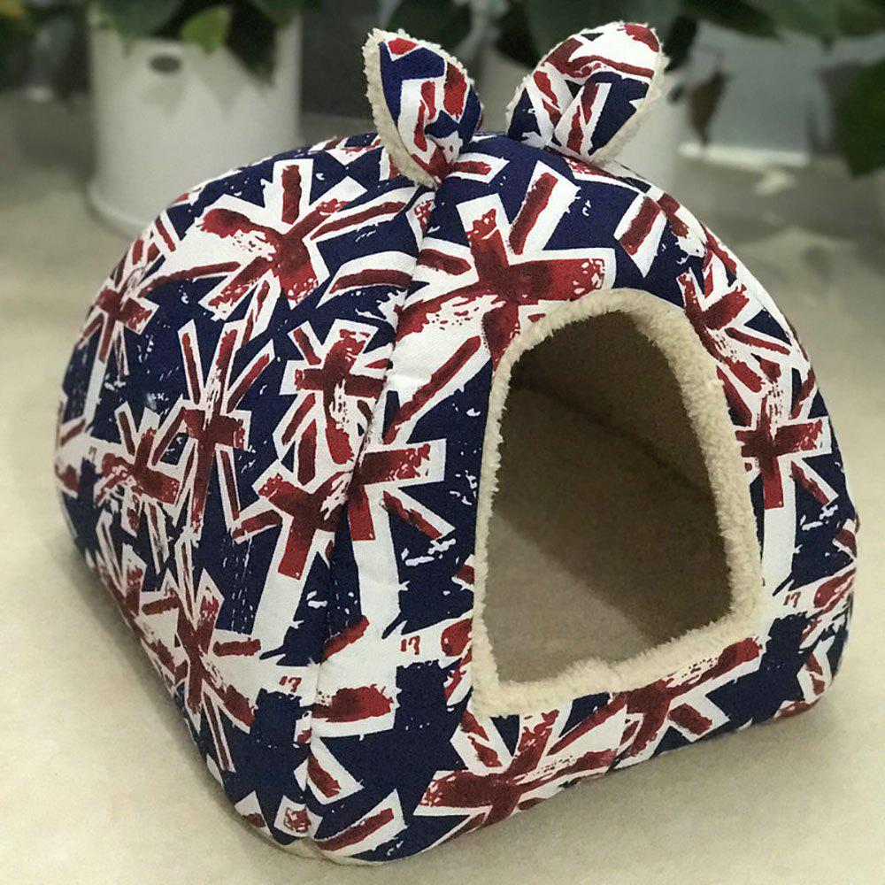 Fancy Pet Winter and Summer Dual-Purpose Rice Flag Mongolian Nest Bag