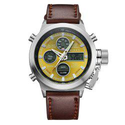 Outdoor Sports Military Watch Quartz Double Movement Watch -