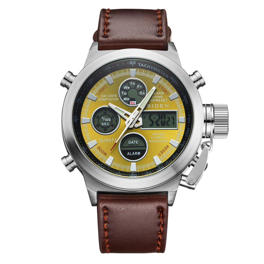 Discount Outdoor Sports Military Watch Quartz Double Movement Watch