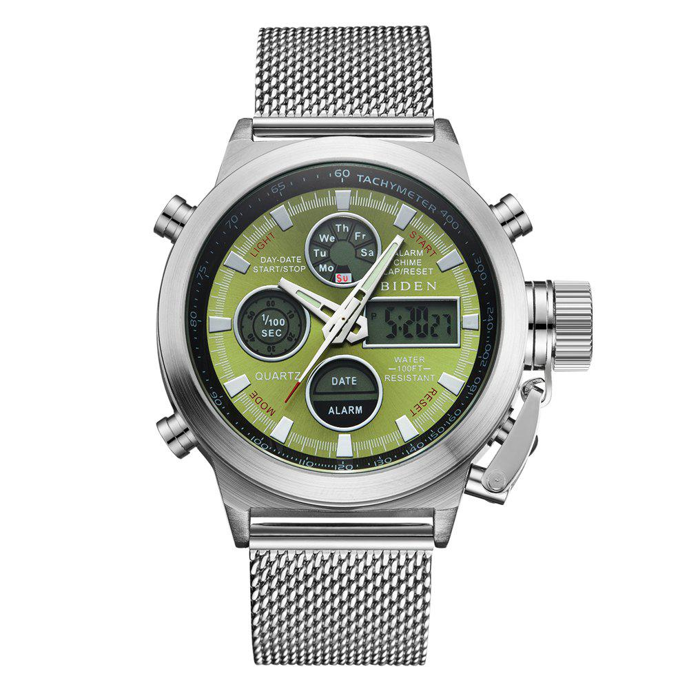 Outfit Outdoor Sports Military Watch Quartz Double Movement Watch