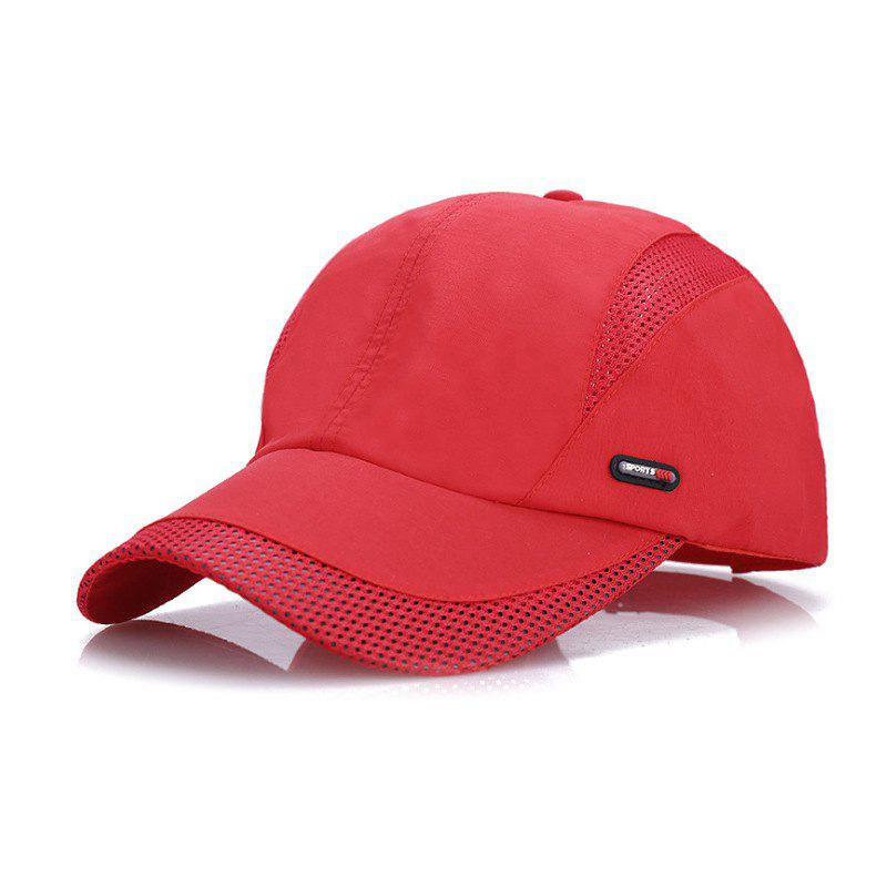 Latest Mesh breathable quick-drying cap + adjustable for 56-59cm