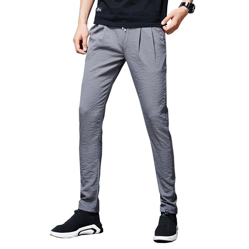 Chic Men'S Summer Fashion Loose Sweatpants Trend Casual Pants Cool Trousers838