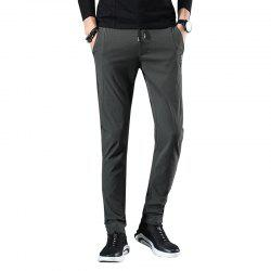 Men'S Fashion Stretch Casual Pants Work Party Pants 813 -