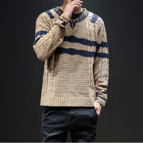 064c9d5a131 New Men Winter Long Sleeve Sweater Shirt Plus Size Fashion Pullover