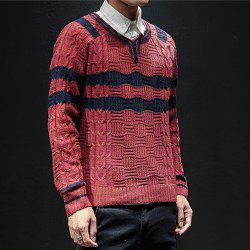 New Men Winter Long Sleeve Sweater Shirt Plus Size Fashion Pullover -