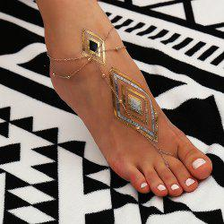 Personalized Multi-Layer Tassel Anklet -