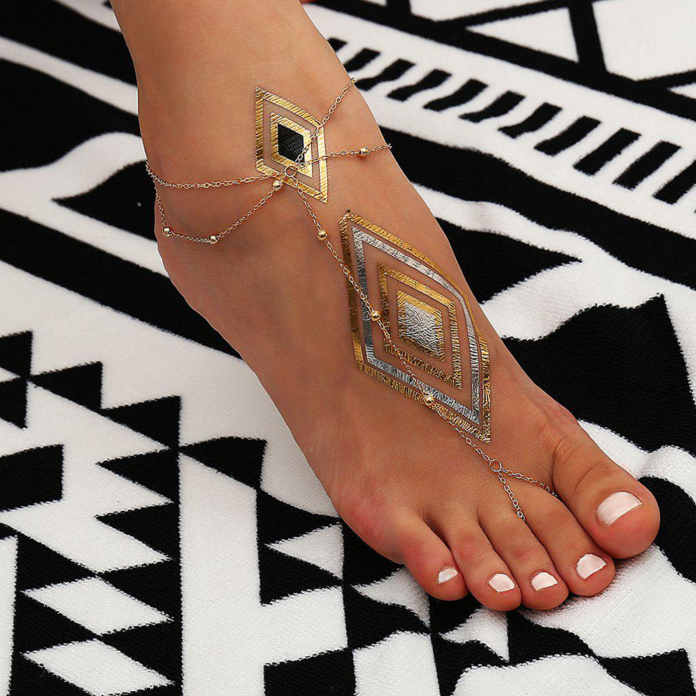 Hot Personalized Multi-Layer Tassel Anklet