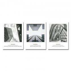 DYC 3PCS Tall Art Print Art -