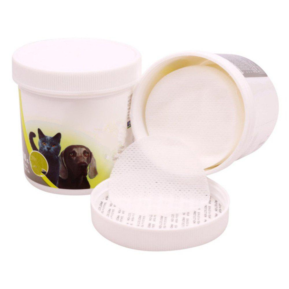 Store Pet Eye Wet Wipes Cat Dog Tear Stain Remover Cleaning Paper Towels
