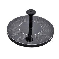 Round Float Solar Fountain Garden View Decoration Watering Tool -