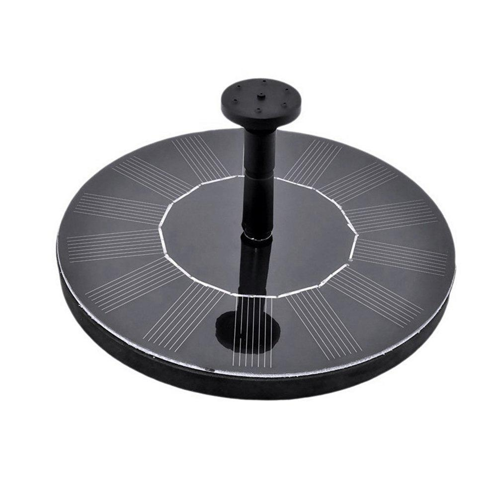 Unique Round Float Solar Fountain Garden View Decoration Watering Tool