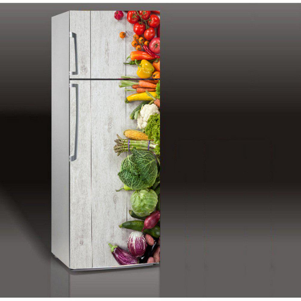 Mailingart Wall Sticker Home Decor Fridge Door Cover Wallpaper Vegetables