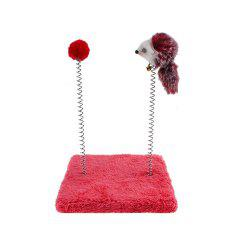 Cat Climb Spring Mouse Cat Toy -