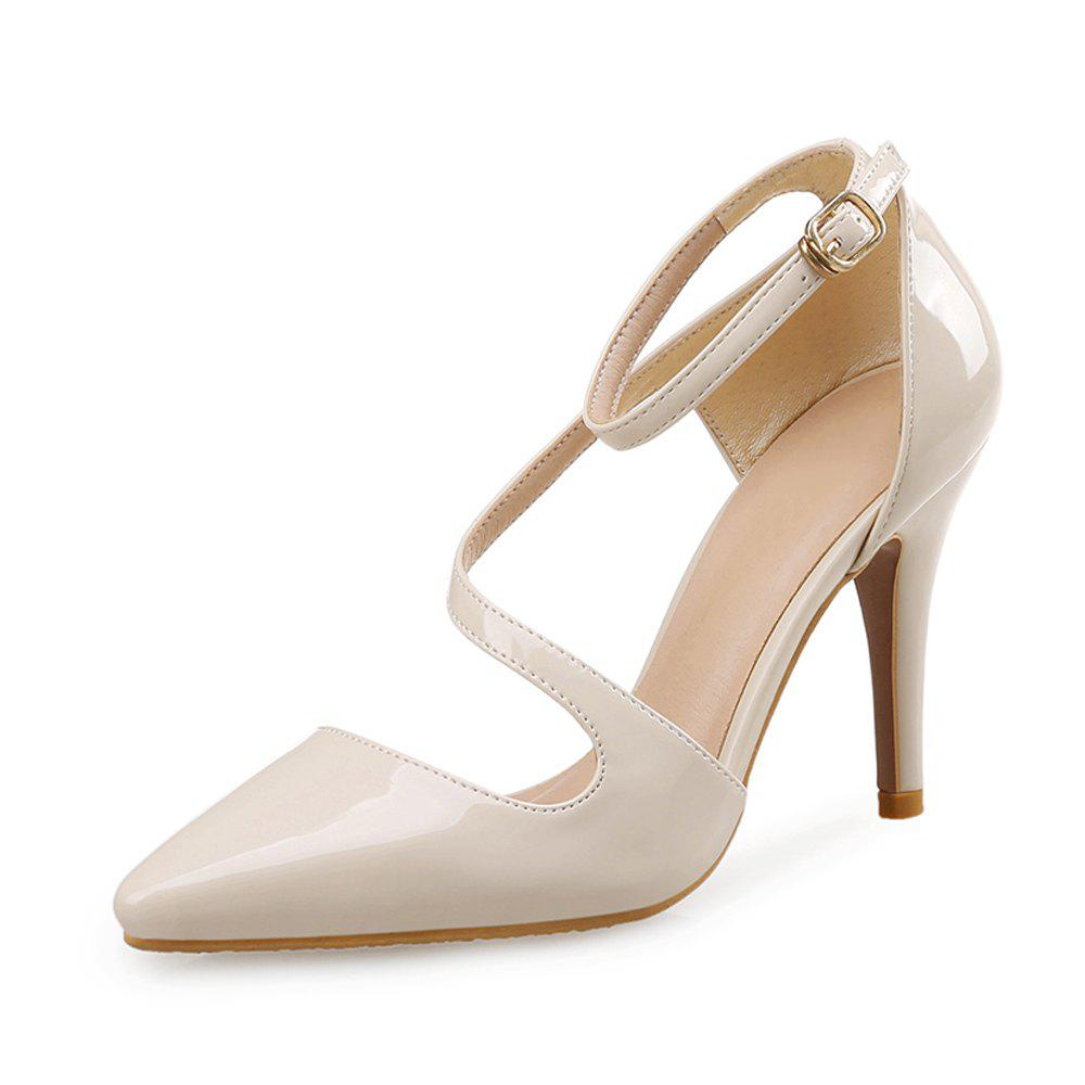 Best Sexy Pointed Shoes Hollow Shallow Mouth Female High Heel Shoes