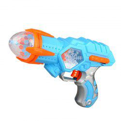 Electric Space Snowflake Sound Light Music Rotating Projection Children Toy -