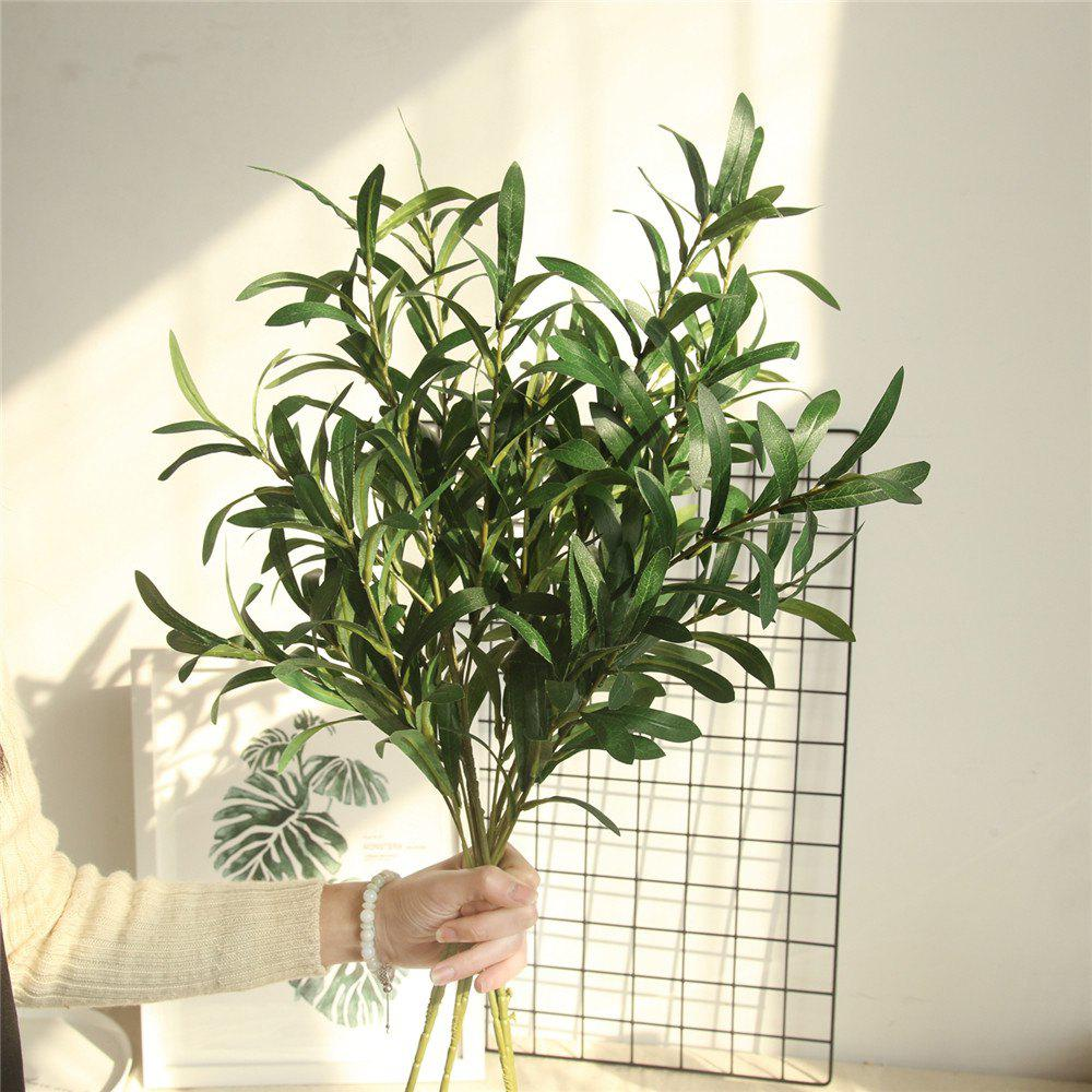 Best Vivid Artificial Olive Leaves Home Wedding Party Decorations