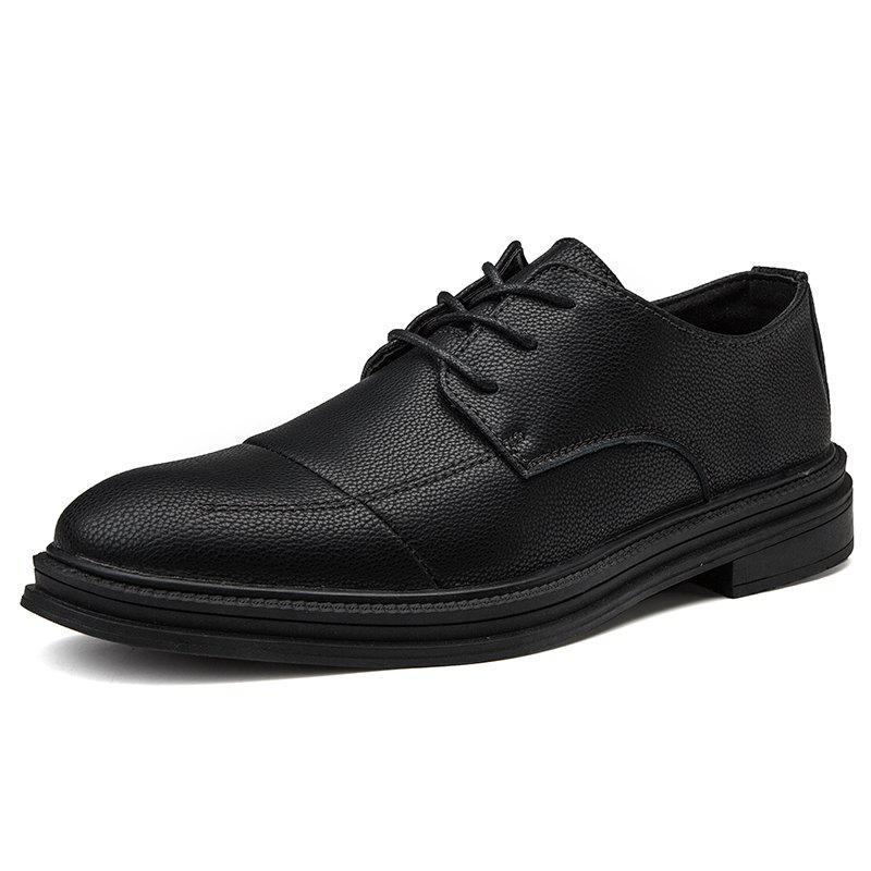 Fancy Men Leather Business Formal Pointed Casual Shoes