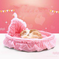 Winter and Summer Lace Teddy VIP Princess Nest Can Be Removed and Washed Pet Nes -