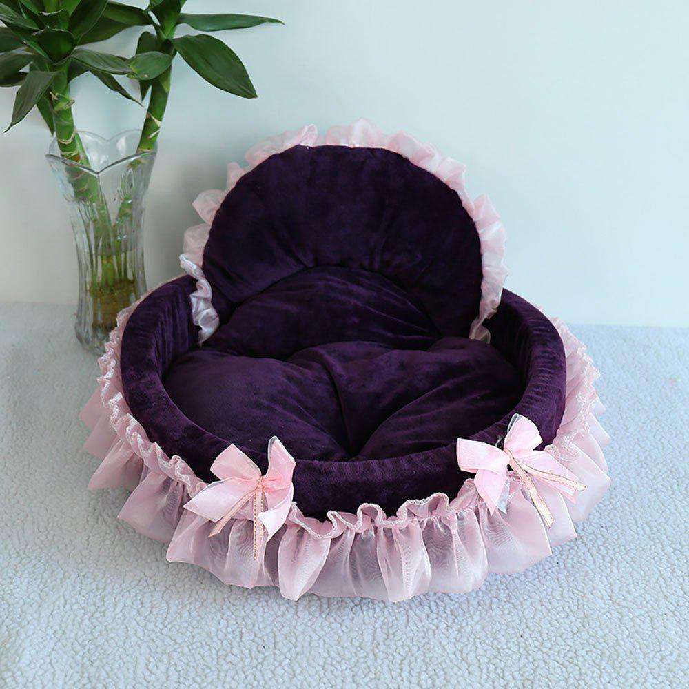 Best Winter and Summer Lace Teddy VIP Princess Nest Can Be Removed and Washed Pet Nes