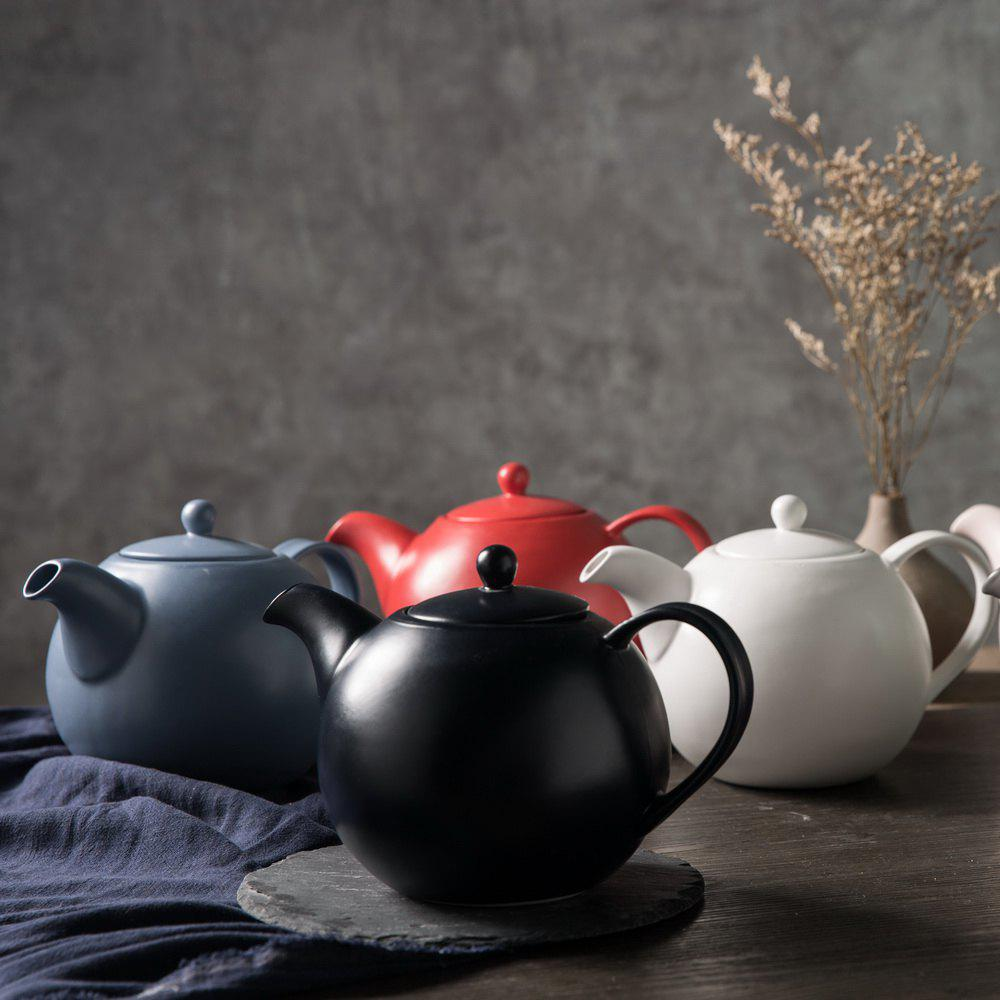 Outfits Drinkware Ceramic Afternoon Tea Pot Water Coffee Pot